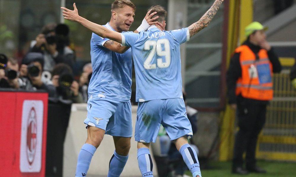 Immobile Lazzari MilanPress Lazio