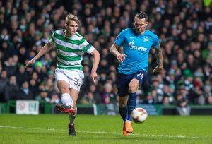 Kristoffer Ajer in azione con la maglia del Celtic - Milanpress, robe dell'altro diavolo