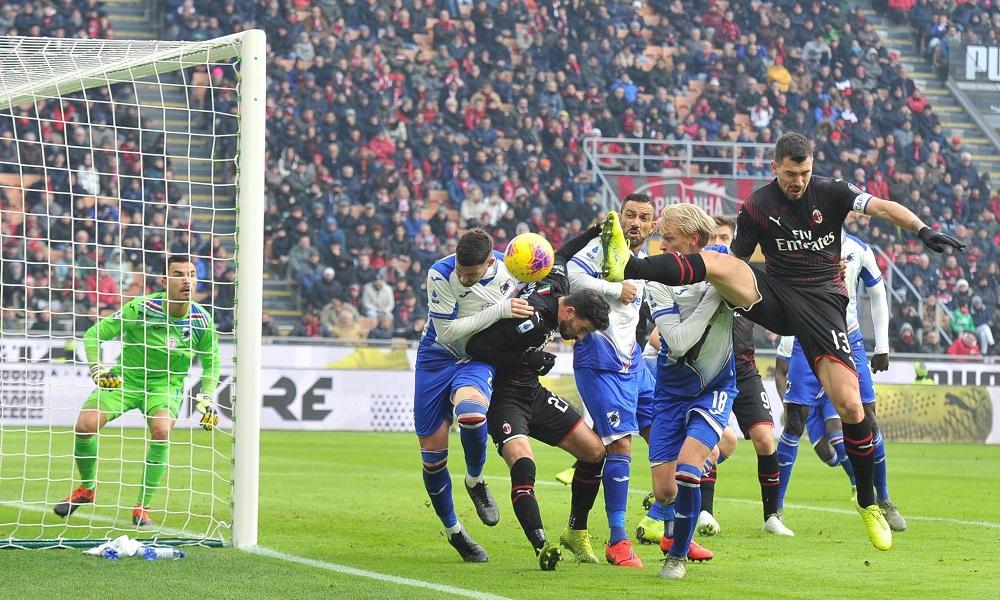 Sampdoria-Milan - Milanpress, robe dell'altro diavolo