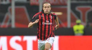 Milan: Diego Laxalt - Milanpress, robe dell'altro diavolo