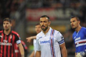 Sampdoria: Fabio Quagliarella - Milanpress, robe dell'altro diavolo
