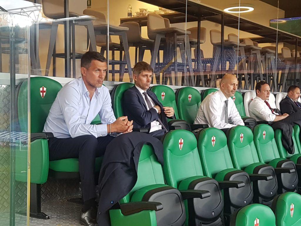 Milan: Maldini, Massara e Gazidis - Milanpress, robe dell'altro diavolo