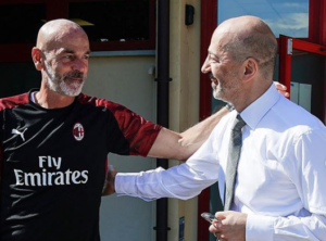 Milan: Stefano Pioli e Ivan Gazidis - Milanpress, robe dell'altro diavolo