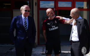 Milan: Stefano Pioli, Ivan Gazidis e Paolo Scaroni - Milanpress, robe dell'altro diavolo