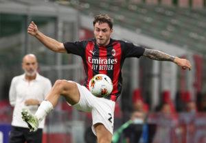 Milan: Davide Calabria - Milanpress, robe dell'altro diavolo