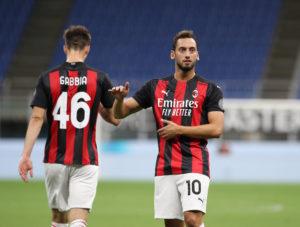 Milan: Hakan Calhanoglu - Milanpress, robe dell'altro diavolo