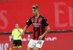 Milan: Daniel Maldini - Milanpress, robe dell'altro diavolo