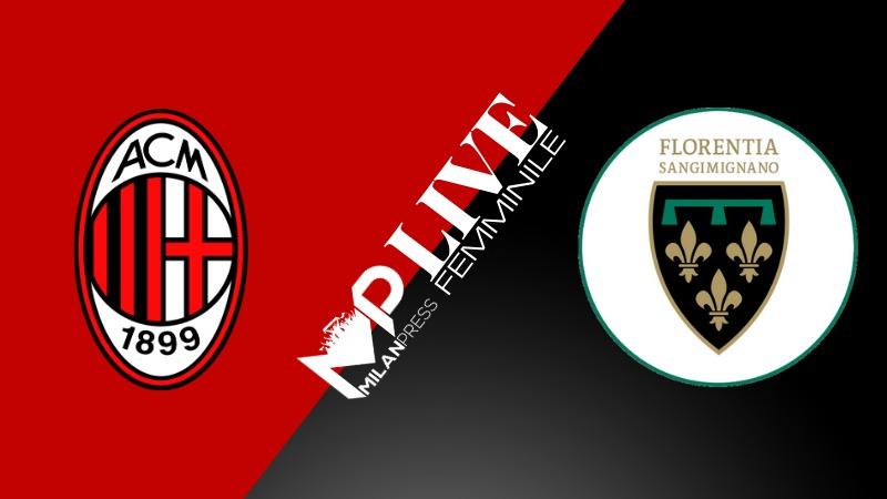 Mp Live Serie A Femminile Milan Florentia Segui Con Noi Il Match In Diretta Milanpress