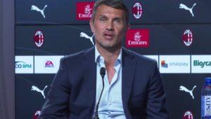 Milan: Paolo Maldini - Milanpress, robe dell'altro diavolo