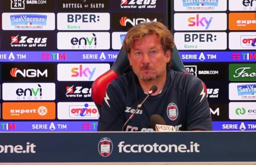 Giovanni Stroppa, allenatore del Crotone - Milanpress, robe dell'altro diavolo