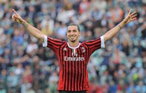 Milan: Zlatan Ibrahimovic con la maglia del Milan nella stagione 2011/12 - Milanpress, robe dell'altro diavolo