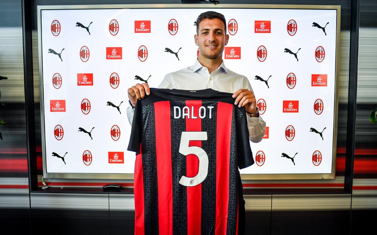 Milan: Diogo Dalot - MilanPress, robe dell'altro diavolo