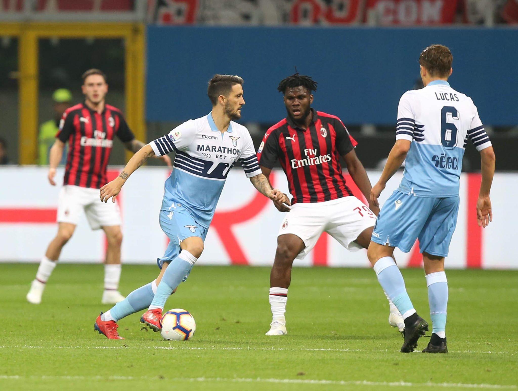 Lazio: Luis Alberto - Milanpress, robe dell'altro diavolo