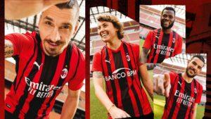 Puma e Milan presentano la nuova prima maglia - Milanpress, robe dell'altro diavolo