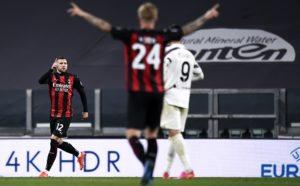 Juventus-Milan: Ante Rebic (Photo Credit: Agenzia Fotogramma)