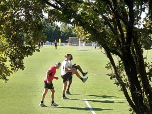 Allenamento Kessie Ibrahimovic Milan