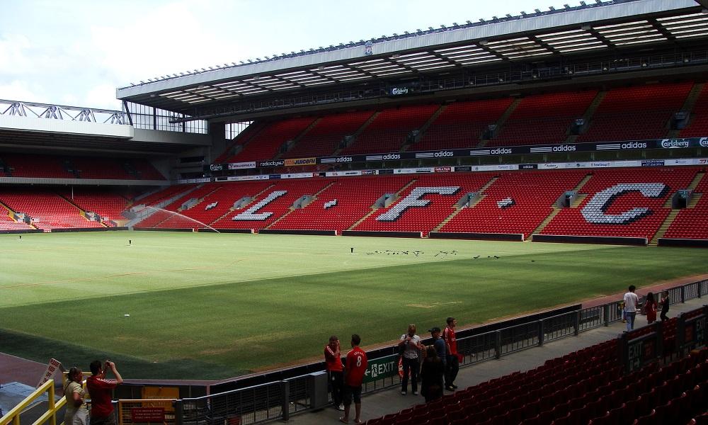 Stadio Anfield Liverpool - Milanpress, robe dell'altro diavolo
