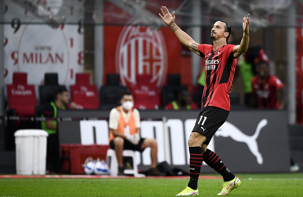 Milan: Zlatan Ibrahimovic (Photo Credit: Agenzia Fotogramma)